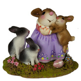 Wee Forest Folk Miniature - Snuggle Bunnies (M-502a)