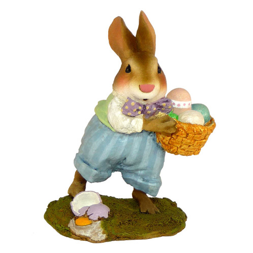 Wee Forest Folk Miniature - Easter Bunny (B-17)
