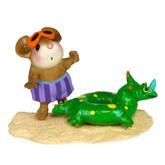 Wee Forest Folk Miniature - Tiny Tubie Dinosaur (M-349c)
