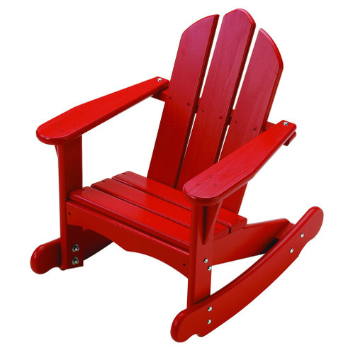 Little Colorado Child's Adirondack Rocking Chair - Red