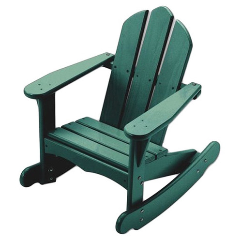 Little Colorado Child's Adirondack Rocking Chair - Green
