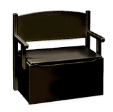 Little Colorado Bench Toy Box - Espresso