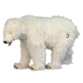 Hansa Polar Bear Cub, On All Four Feet 42''L (4446)