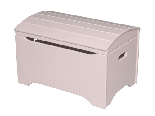 Little Colorado Treasure Chest Toy Box - Soft Pink