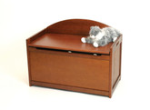 Lipper International Child's Toy Chest, Cherry Finish