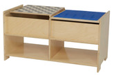 Build-N-Play Table with Checkerboard