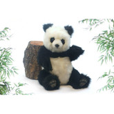 "Hansa Panda Bear, Jointed 15""H (4479)"