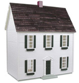 Real Good Toys 1/2 Scale Colonial Unfinished Dollhouse Kit (H72)