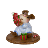 Wee Forest Folk Miniatures - Stocking Unstuffer (Boy) (M-660b)
