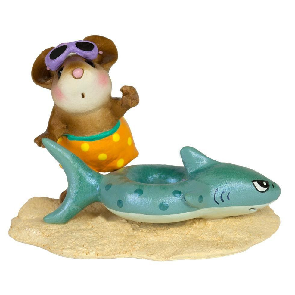 Wee Forest Folk M-349E Tiny Tubie  Shark 2017 Limited Edition