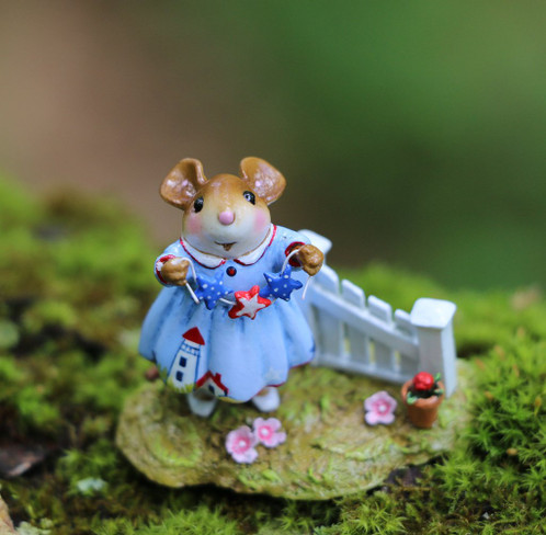 Wee Forest Folk Miniatures - Star Spangled (M-631a)