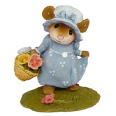 Wee Forest Folk Miniatures - My Little Yellow Basket (M-346)