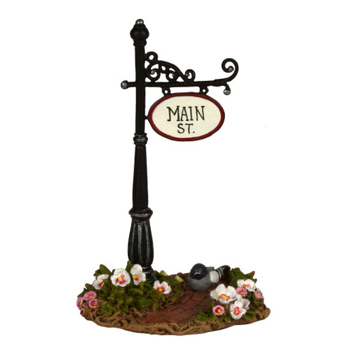 Wee Forest Folk Miniatures - Main St. Sign Post (A-49)