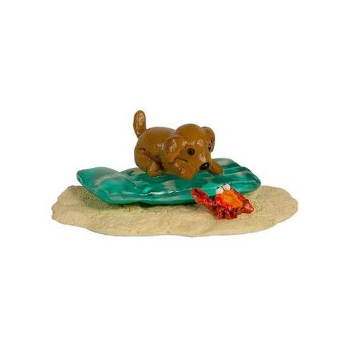 Wee Forest Folk Miniatures - Playful Pup (A-55)