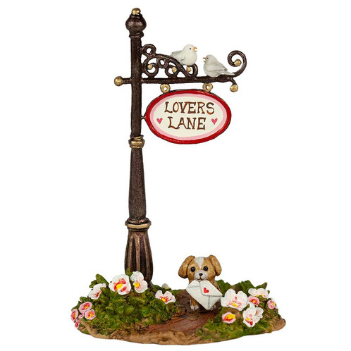 Wee Forest Folk Miniatures - Lover's Lane Sign Post (A-49d)