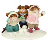 Wee Forest Folk Miniatures - Taunting Trio (M-436a)