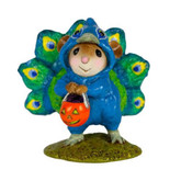 Wee Forest Folk Miniature - Proud Peacock (M-457a)