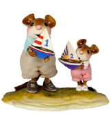 Wee Forest Folk Miniatures - Ship Mates (Girl) Limited Edition (M-636c)
