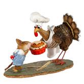 Wee Forest Folk Miniature - Bon Appetit Mon Ami (M-700)
