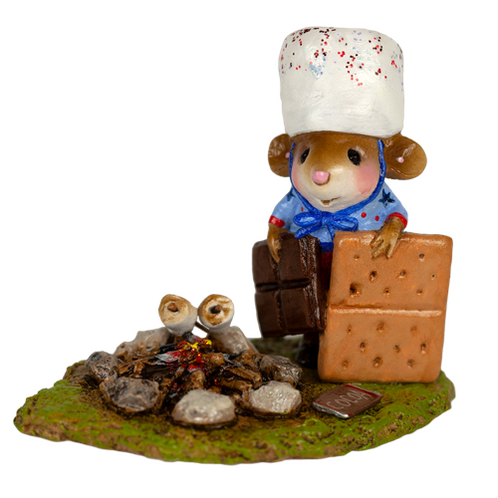 Wee Forest Folk Miniature - S'More Patriotism (M-537a)
