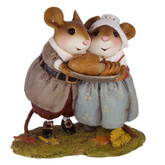 Wee Forest Folk Miniature - Pilgrim Potluck (M-593)