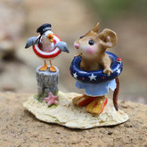 Wee Forest Folk Miniatures - Patriotic Pals (M-691b)