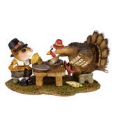 Wee Forest Folk Miniature - Turkey for Dinner (M-592)