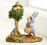 Wee Forest Folk Miniatures - Poached Easter Eggs (M-707)