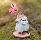 Wee Forest Folk Miniatures - Mom's Special Day (M-693f-Blue)