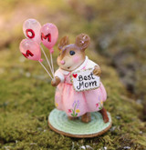 Wee Forest Folk Miniatures - Mom's Special Day (M-693f-Pink)