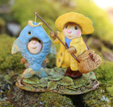 Wee Forest Folk Miniature - Reel Chums (M-676a)