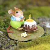 Wee Forest Folk Miniatures - Wee Wishes Blue (M-611a)