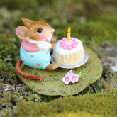 Wee Forest Folk Miniatures - Wee Wishes Pink (M-611a)