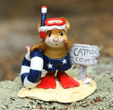 Wee Forest Folk Miniature - Catfish Cove Fourth of July Edition (M-293)