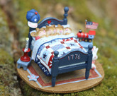Wee Forest Folk Miniature - Star Spangled Snoozers (M-514a)