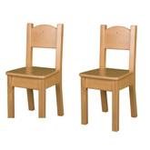 Little Colorado Open Back Chair Honey Oak Finish