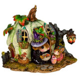 Wee Forest Folk Miniature - Wee Halloween Bungalow (M-619a)