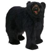 Hansa Black Bear, Life Size Walking 54''L (HAN-5057)