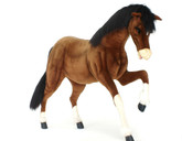 "Hansa Clydesdale, Prancing 62""L x 54''H (5094)"
