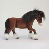 "Hansa Clydesdale Horse, 20""L (5443)"