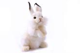 Hansa 3313 White Baby Rabbit Stuffed Animal. A perfect Easter basket bunny!