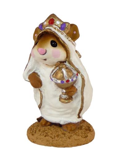 Wee Forest Folk Miniature - Wise Man in Robe (M-121b)