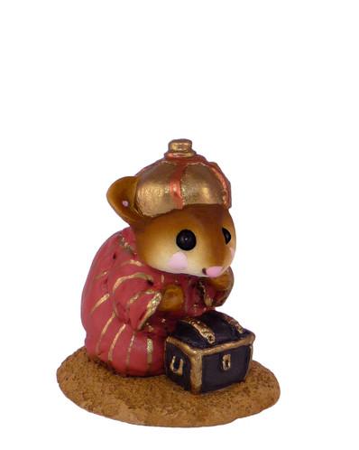 Wee Forest Folk Miniature - Wise Man Kneeling (M-121c)