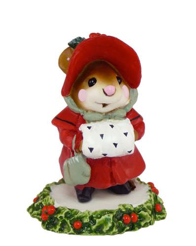 Wee Forest Folk Miniature - Miss Noel (M-146-Red)