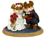 Wee Forest Folk Miniature - The Wedding Pair (M-200-Red)