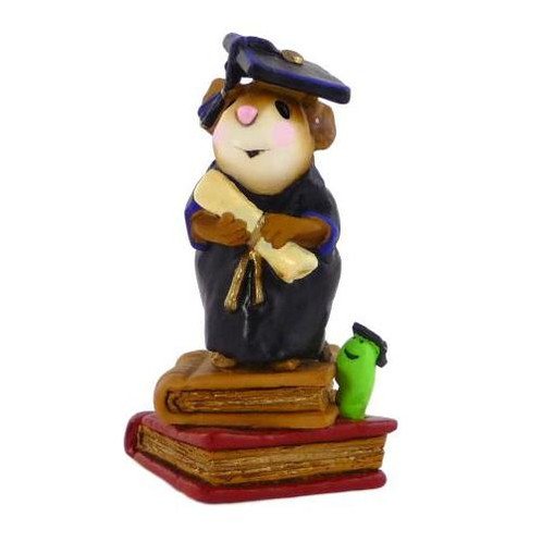 Wee Forest Folk Miniature - The Graduates (M-222-Black)