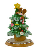 Wee Forest Folk Miniature - Christmas Tree Alone (M-240a-Dark)
