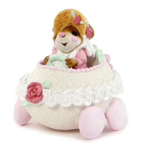 Wee Forest Folk Miniature - Easter Eggmobile Girl (M-274a-Pink)
