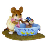 Wee Forest Folk Miniature - Rub-a Dub Dolly (M-301-Ducks)
