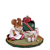Wee Forest Folk Miniature - Waiting For Christmas (M-316)